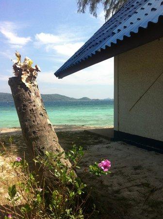 Coral Island Resort: Mer turkost