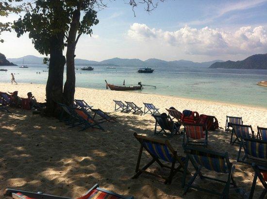 Coral Island Resort: Lite längre bort på stranden