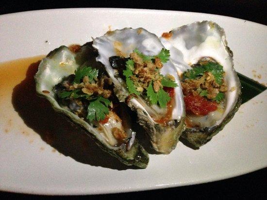 Sarong Restaurant : Amazing fresh oyster