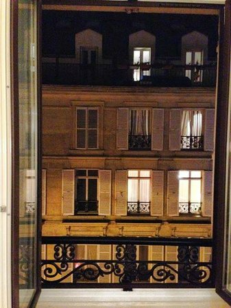 Hotel Saint-Ferdinand by HappyCulture: View from my room