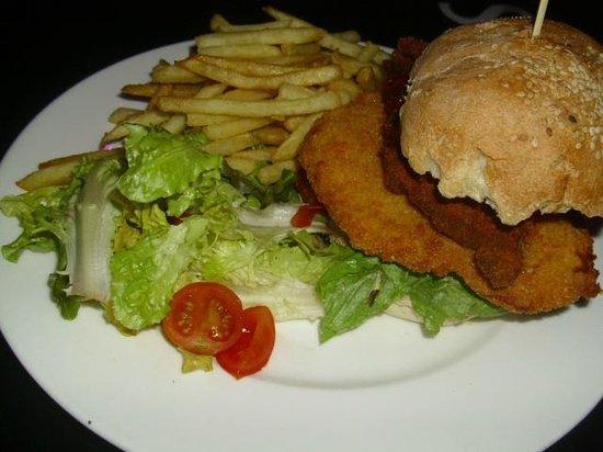 Badass Cafe: Scnitzel Squarel