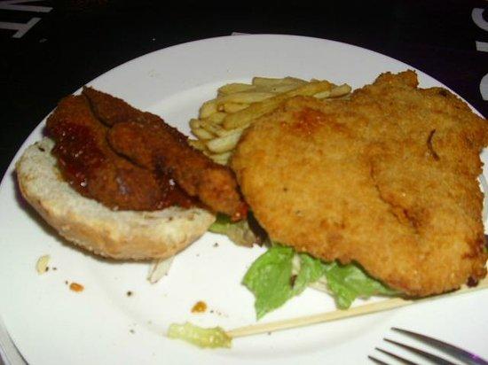 Badass Cafe: Vienna steak from dreams (thanks, Santa Claus!)