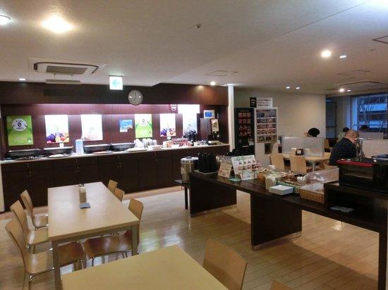 Super Hotel Inn Sendai Kokubuncho : 食堂