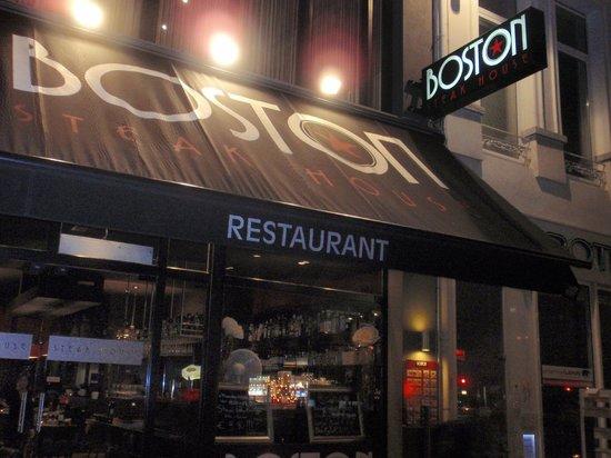 Boston Steak House: Я первый раз в Бельгии, в Бостон Стейк Хаусе