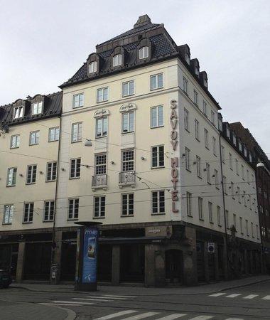 Clarion Collection Hotel Savoy: Собственно сам отель