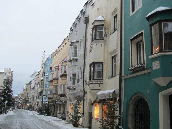 Hotel Lamm: corso con nevicata