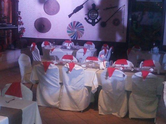 Abu Ahmad Orient Restaurant : Christmas dinner