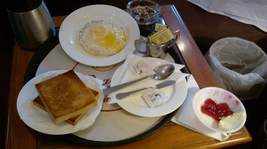 Pragati Manor: breakfast