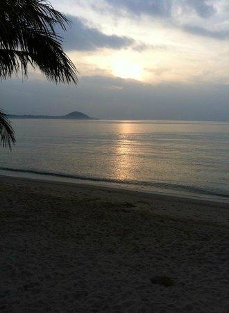 Centra by Centara Coconut Beach Resort Samui: Sunrise at the beach