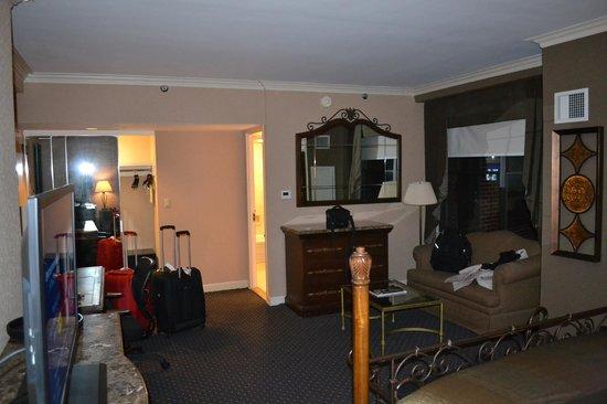 The Whitehall Hotel : Tv LCD e quarto espaçoso