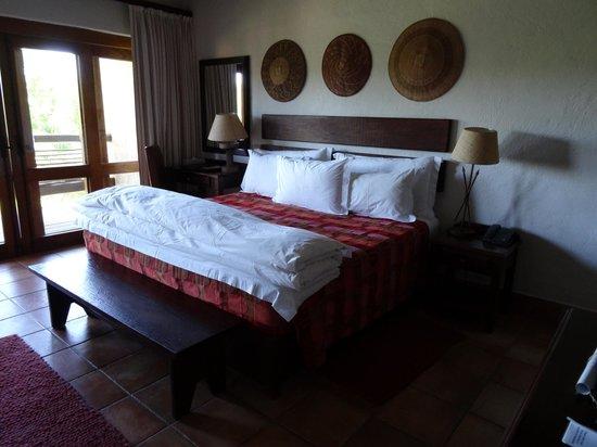 Kapama River Lodge: Rummet på Kapama