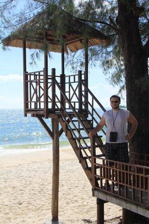 Sokha Beach Resort: на пляже