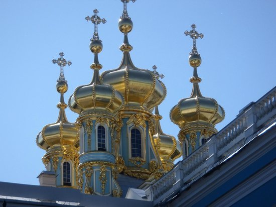 Catherine Palace and Park: Golden Steeples