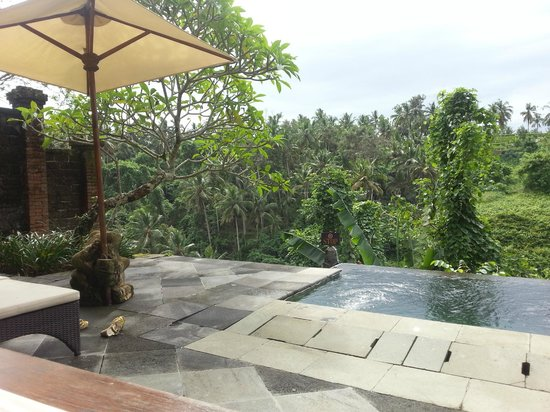 Natura Resort and Spa: Private pool on the terrace