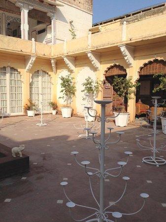Pal Garh: The Inner courtyard