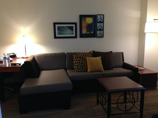 Residence Inn Austin Downtown / Convention Center: Sofa area