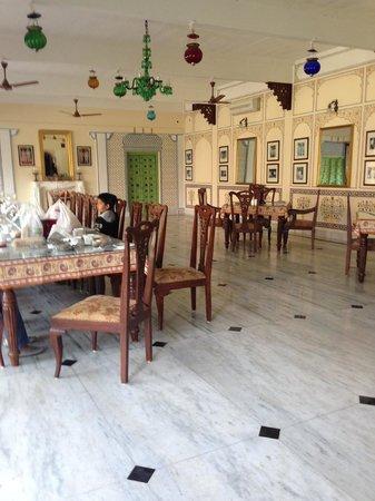 Pal Garh: The Dining hall