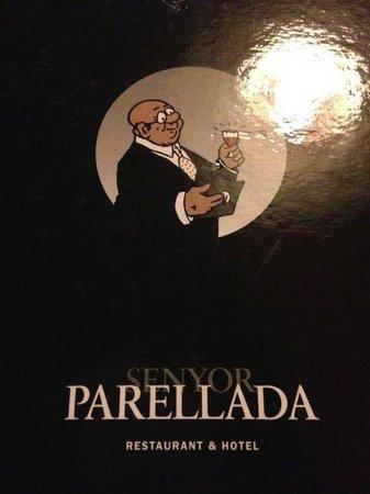 Senyor Parellada : Menu