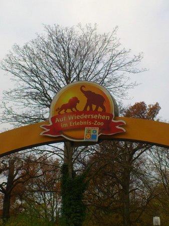 Erlebnis-Zoo Hannover: Zoo Exit