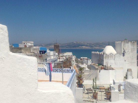 Dar Nour: vue d'une terrasse