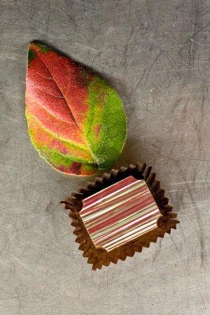 Extra pistachio chocolate bonbon at Hungaricum Dessert Shop - Choco ...