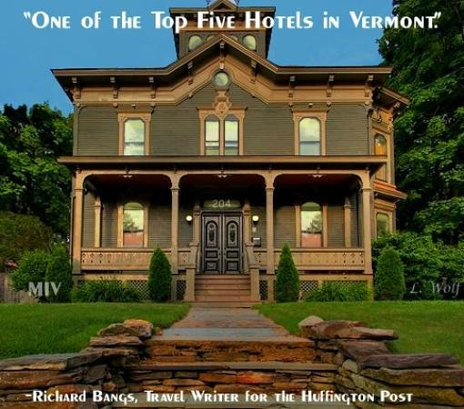 "Made INN Vermont, an Urban-Chic Bed and Breakfast: ""Top 10 N. American Winter Destinations""  Summer, Winter & Fall Too!  Urban-Chic"
