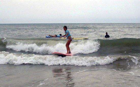 Nex Generation Surfing School: Standing up