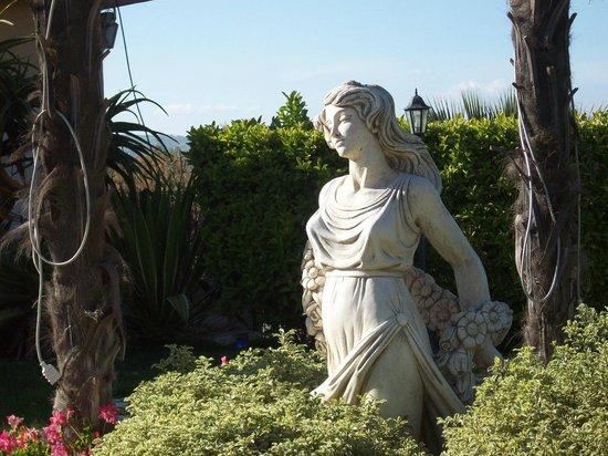 Tenuta Palladio: Statua decorativa