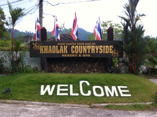 Khaolak Countryside Resort & Spa: Välkommen