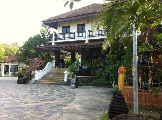 Khaolak Countryside Resort & Spa: Hotellentrén