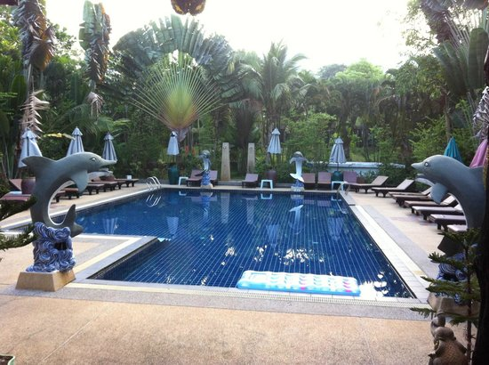 Khaolak Countryside Resort & Spa: Poolen