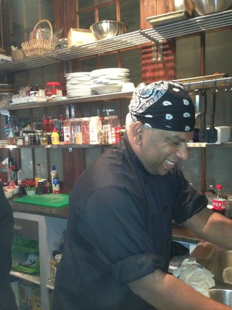 Drink! Lounge & Bistro: Our head chef Dwight!