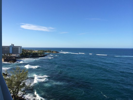 The Condado Plaza Hilton: View from Room 930