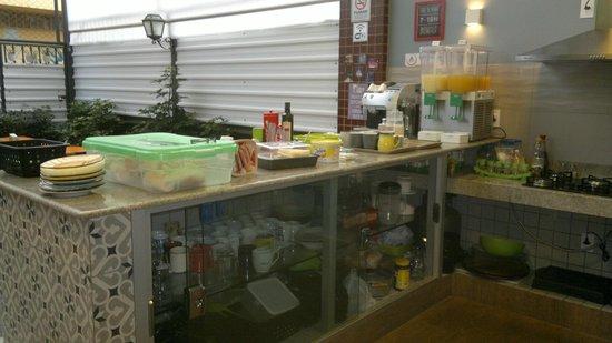 Hostel 7 - Cozinha