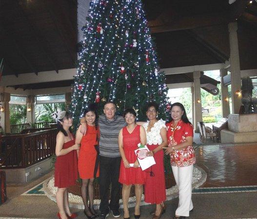 Novotel Phuket Resort: STAFF AND ME XMAS 2013