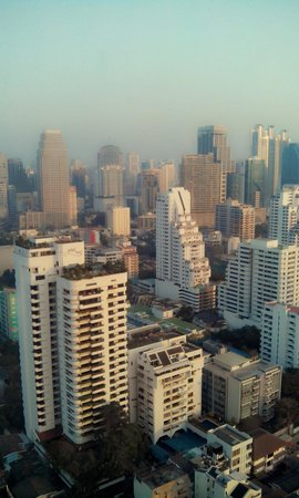 Grand Sukhumvit Hotel Bangkok : View from 31st floor...