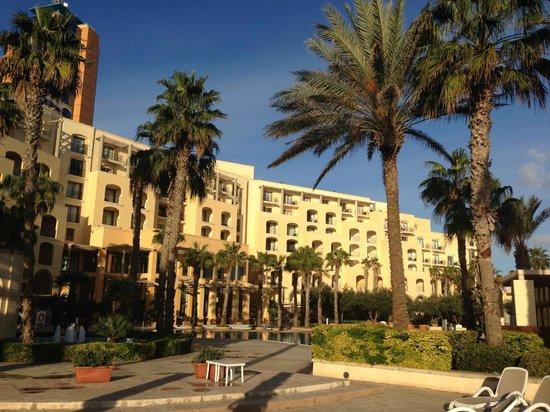 Hilton Malta: From Pool Area (Dec/Jan)