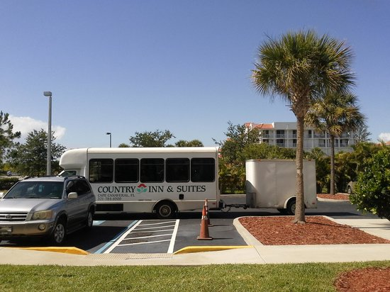 Country Inn & Suites By Carlson, Port Canaveral: The Shuttle