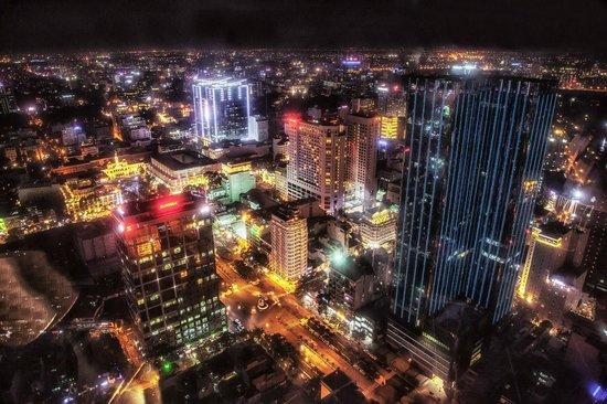 Bitexco Financial Tower - Saigon Skydeck: Uitzicht over Ho Chi Minh