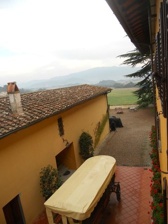 Villa Poggio Bartoli: VISTA DALLA CAMERA