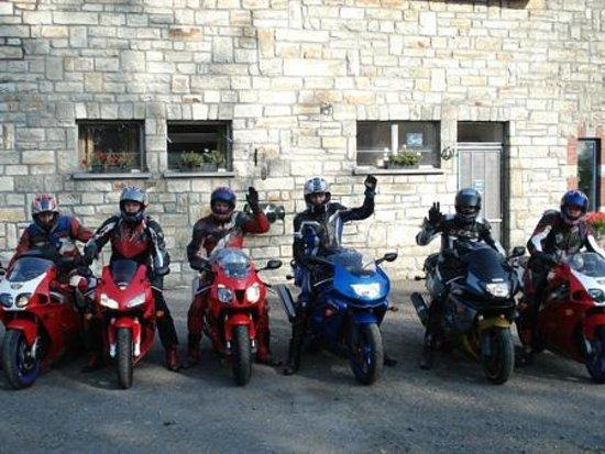 Motorherberg Les Arondes