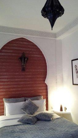 Riad Aya,  chambre Paprika