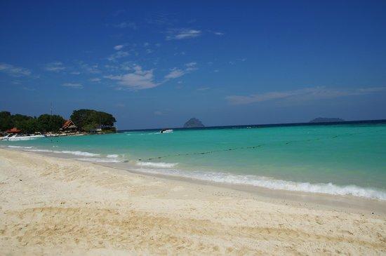 P.P. Erawan Palms Resort : Hotelstrand