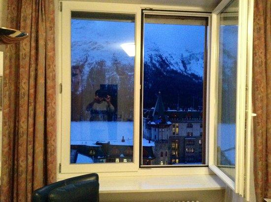Hotel Eden Garni St. Moritz: room view