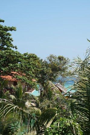 P.P. Erawan Palms Resort : Blick vom Balkon