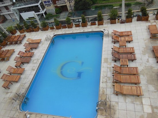 Hotel Costa Galana: pileta climatizada con hidromasajes