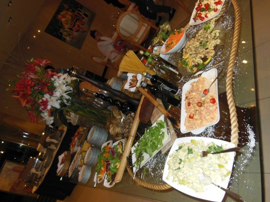 Hotel Costa Galana: Restaurant La Terraza, buffet