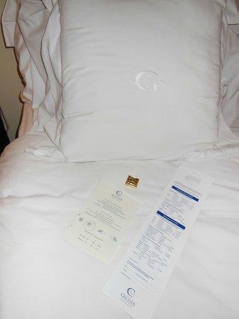 Hotel Costa Galana: servicio de noche: pronóstico para el día siguiente, chocolate y lista para la lavandería