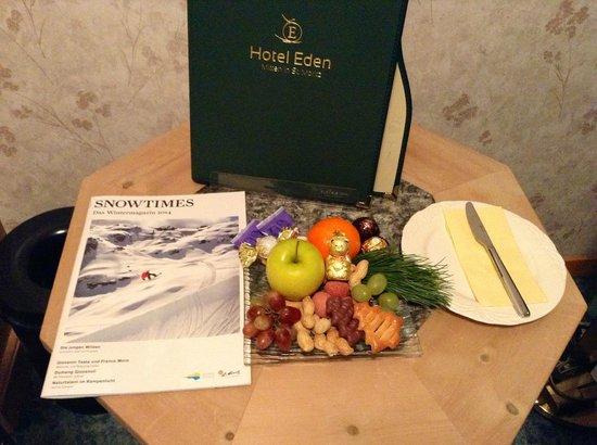 Hotel Eden Garni St. Moritz: pleasantries !!!