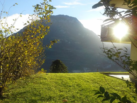 Hotel & Naturhaus Bellevue: Sunrise